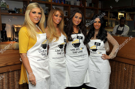 Frankie Essex, Lauren Pope, Lauren Goodger and Peri Sinclair