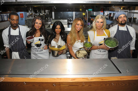 Editorial picture of TOWIE Charity Cook off at Shoreditch Waterhouse, London, Britain - 05 Mar 2012
