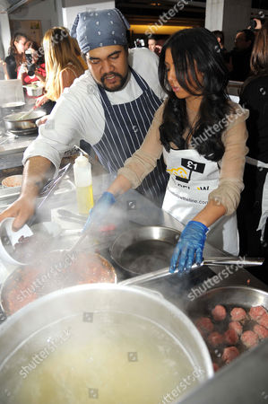 Editorial photo of TOWIE Charity Cook off at Shoreditch Waterhouse, London, Britain - 05 Mar 2012