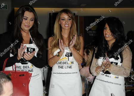 Lauren Goodger, Lauren Pope and Peri Sinclair