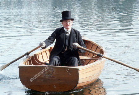 Frederick Treves as Lord Worplesden on Central Park lake