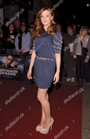 Editorial picture of 'Payback Season' film premiere, London, Britain - 06 Mar 2012