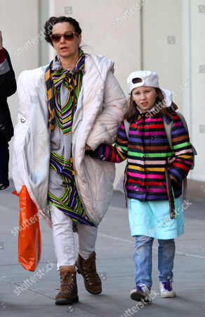 Stock Picture of Bjork and Isadora Barney