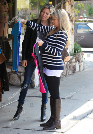 Editorial picture of Tiffany Thornton out shopping, Los Angeles, America - 06 Mar 2012