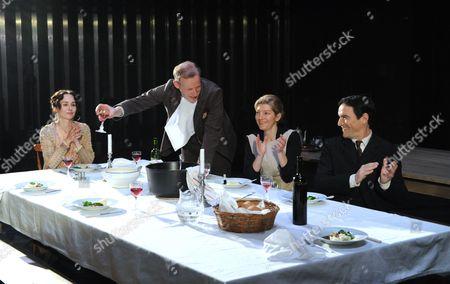 Tara Fitzgerald as Beatrice, Andrew Havill as George, Jemma Redgrave as Dorothy, Ben Chaplin as Harley