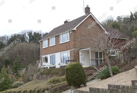 Detached house in Withdean, Brighton, Sussex owned by Simon Konecki, boyfriend of singer Adele
