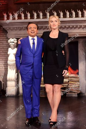 Piero Chiambretti and Kate Winslet