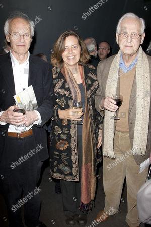 Michael Frayn, Greta Scacchi and Michael Blakemore