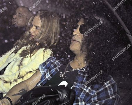 Editorial photo of Trinny Woodall and Slash Out and About in London, Britain - 07 Mar 2012