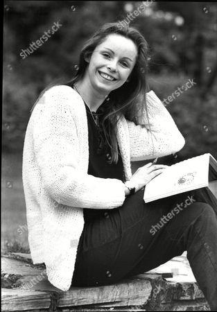 Stock Photo of Lalla Ward Actress 1982.