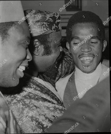 Prince Buster Blue Beat Singer At London Airport 1964.