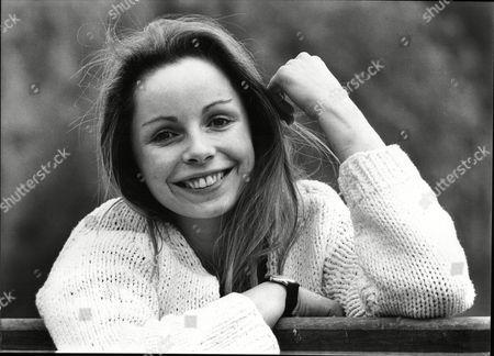 Editorial photo of Lalla Ward Actress 1982.
