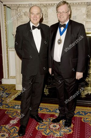 Business Secretary Vince Cable and Lord Mayor David Wootton