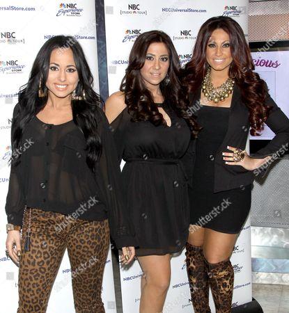 Olivia Blois Sharpe, Gigi Liscio and Tracy DiMarco