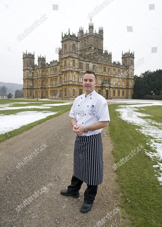 Stock Picture of Paul Brooke-Taylor, head chef at Highclere Castle