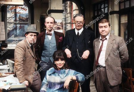 Milton Johns as Ben Marsh, Alan David as Tancred Taylour, Tom Mennard as Acorn Henshaw, Gregor Fisher as Hector Ross and Diane Keen as Daisy Jackson