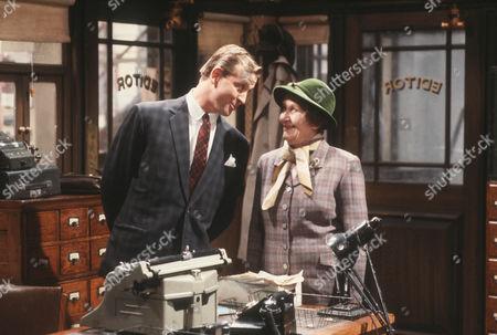 Geoffrey Burridge as Joe Prince and Constance Chapman as Miss Merryweather