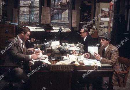 Gregor Fisher as Hector Ross, Tom Mennard as Acorn Henshaw and Milton Johns as Ben Marsh