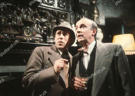 Milton Johns as Ben Marsh and Alan David as Tancred Taylour