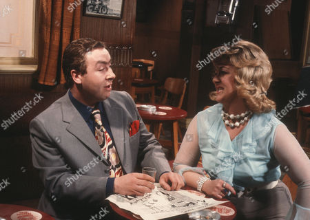 Gregor Fisher as Hector Ross and Lesley Daine as Mrs Ross