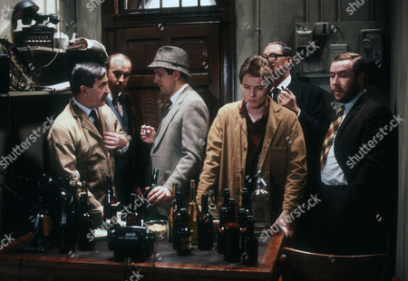 Patrick Troughton as J P Schofield, Alan David as Tancred Taylour, Milton Johns as Ben Marsh, Steven Pinder as Owen Buckley, Tom Mennard as Acorn Henshaw and Gregor Fisher as Hector Rose