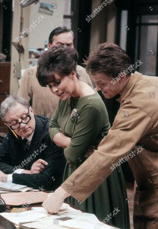 Tom Mennard as Acorn Henshaw, Diane Keen as Daisy Jackson and Steven Pinder as Owen Buckley