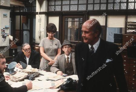 Tom Mennard as Acorn Henshaw, Diane Keen as Daisy Jackson, Milton Johns as Ben Marsh and Geoffrey Chater as Mr Molyneux