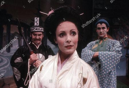 Stock Photo of Patrick Troughton as J P Schofield, Diane Keen as Daisy Jackson and Geoffrey Burridge as Joe Prince