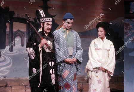Patrick Troughton as J P Schofield, Geoffrey Burridge as Joe Prince and Diane Keen as Daisy Jackson