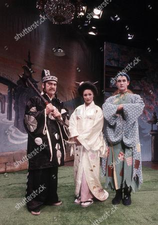 Patrick Troughton as J P Schofield, Diane Keen as Daisy Jackson and Geoffrey Burridge as Joe Prince