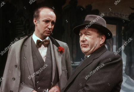 Alan David as Tancred Taylour and Roy Barraclough as man from Chappells Music Publishers