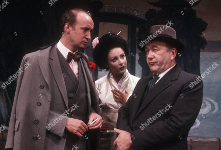 Alan David as Tancred Taylour, Diane Keen as Daisy Jackson and Roy Barraclough as man from Chappells Music Publishers