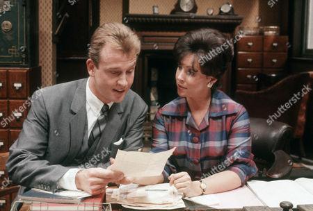 Stock Image of Geoffrey Burridge as Joe Prince and Diane Keen as Daisy Jackson