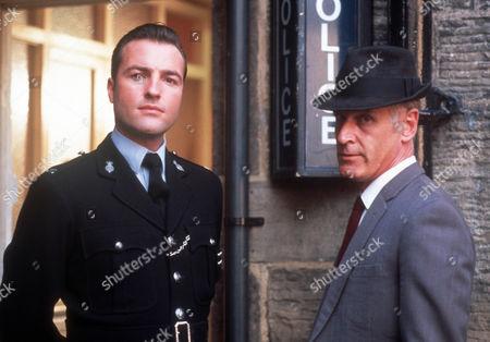 Stock Photo of Nick Berry as Sgt Nick Rowan and Simon Molloy as DI Shiner