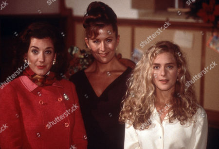 Katharine Rogers as Miriam, Kazia Pelka as Maggie Bolton and Juliette Gruber as Jo Rowan