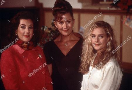 Stock Photo of Katharine Rogers as Miriam, Kazia Pelka as Maggie Bolton and Juliette Gruber as Jo Rowan