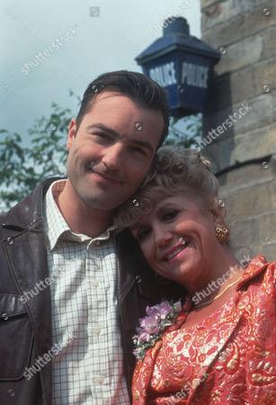 Nick Berry as PC Nick Rowan and Diane Langton as Ruby Rowan