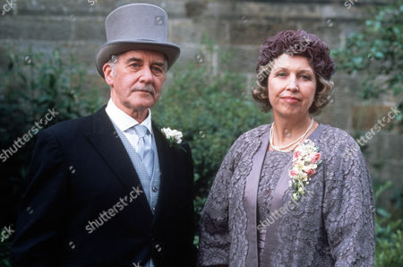Bernard Gallagher as Graham Weston and Anne Reid as Aunt Alison
