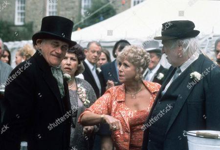 John Bardon as Grandad Rowan, Anne Reid as Aunt Alison, Diane Langton as Ruby Rowan and Bill Maynard as Claude Jeremiah Greengrass