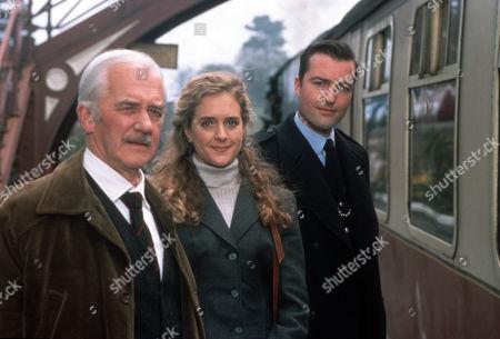 Bernard Gallagher as Graham Weston, Juliette Gruber as Jo Weston and Nick Berry as Nick Rowan
