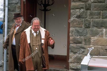 Bill Maynard as Claude Jeremiah Greengrass and Stratford Johns as Cyril Isaiah Greengrass