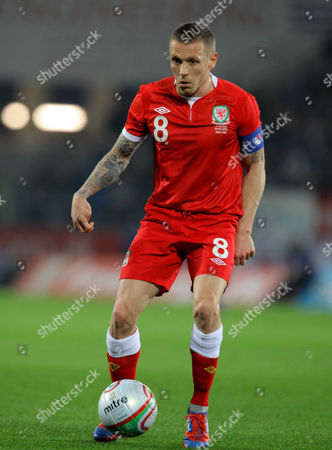 Craig Bellamy of Wales