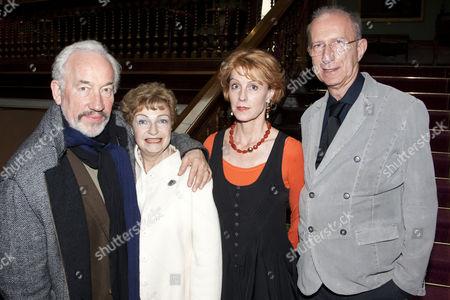 Simon Callow, Ruth Leon, Georgina Brown and Martin Sherman