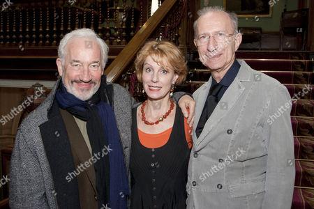 Simon Callow, Georgina Brown and Martin Sherman
