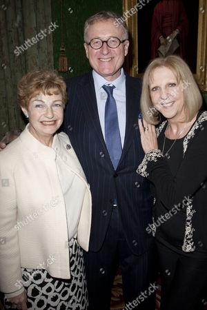 Ruth Leon, James Glanville and Nichola McAuliffe