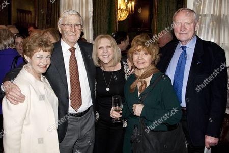 Stock Image of Ruth Leon, Sir Michael Parkinson, Prunella Scales, Nichola McAuliffe and Julian Glover