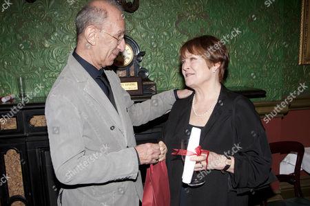 Martin Sherman and Isla Blair