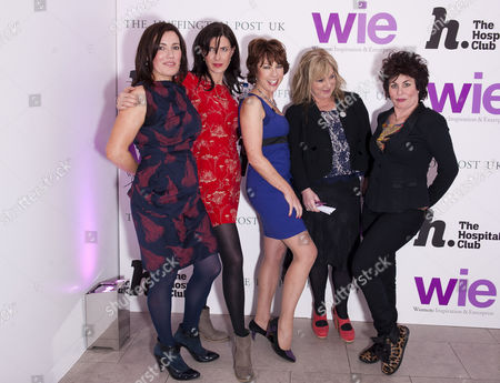 Ronni Acona,Wendy Wason, Kathy Lette, Helen Lederer and Ruby Wax