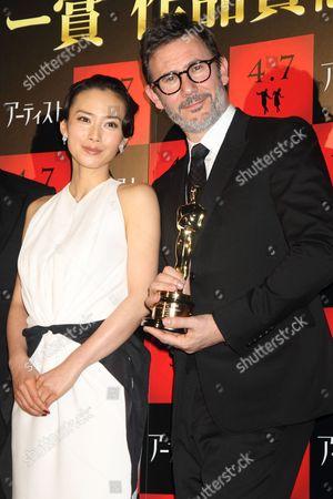 Miki Nakatani and Michel Hazanavicius