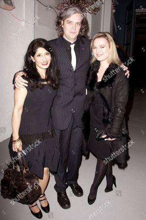 Shappi Khorsandi, Steve Marmion and Sophia Myles